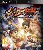 Portada oficial de de Street Fighter X Tekken para PS3