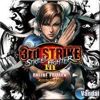 Portada oficial de Street Fighter III: 3rd Strike Online Edition PSN para PS3