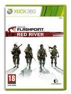 Portada oficial de de Operation Flashpoint: Red River para Xbox 360