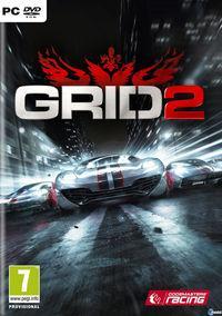 Portada oficial de GRID 2 para PC