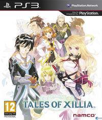 Portada oficial de Tales of Xillia para PS3