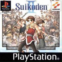 Portada oficial de Suikoden 2 para PS One