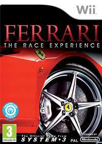 Portada oficial de Ferrari: The Race Experience para Wii