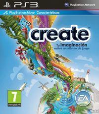 Portada oficial de Create para PS3