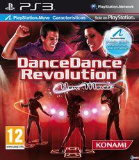 Portada oficial de Dance Dance Revolution New Moves para PS3