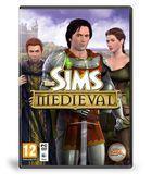 Portada oficial de de The Sims: Medieval para PC