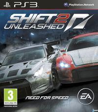 Portada oficial de Shift 2: Unleashed para PS3