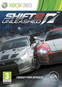 Portada oficial de Shift 2: Unleashed para Xbox 360