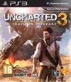 Portada oficial de de Uncharted 3: La traición de Drake para PS3