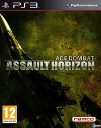Portada oficial de Ace Combat Assault Horizon para PS3