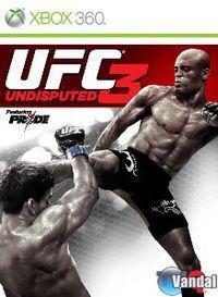 Portada oficial de UFC Undisputed 3 para Xbox 360