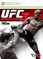 Portada oficial de de UFC Undisputed 3 para Xbox 360