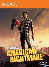 Portada oficial de Alan Wake's American Nightmare XBLA para Xbox 360