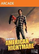 Portada oficial de de Alan Wake's American Nightmare XBLA para Xbox 360