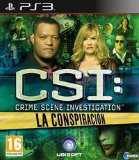 Portada oficial de CSI: La Conspiración para PS3
