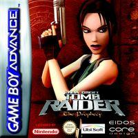Portada oficial de Tomb Raider: The Prophecy para Game Boy Advance