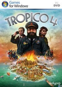 Portada oficial de Tropico 4 para PC