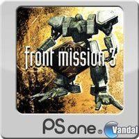 Portada oficial de Front Mission 3 PSN para PS3