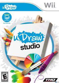 Portada oficial de uDraw Studio para Wii