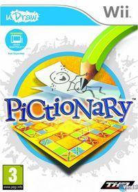 Portada oficial de Pictionary para Wii