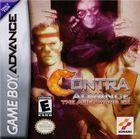 Portada oficial de de Contra para Game Boy Advance