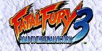 Portada oficial de Fatal Fury 3: Road to Final Victory CV para Wii