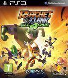 Portada oficial de de Ratchet and Clank: Todos para uno para PS3