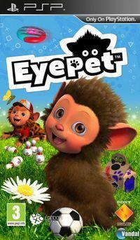 Portada oficial de EyePet para PSP