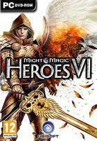 Portada oficial de de Might & Magic Heroes VI para PC