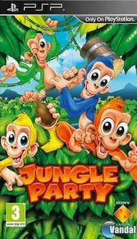 Portada oficial de Jungle Party para PSP