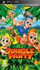 Portada oficial de de Jungle Party para PSP