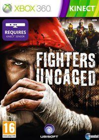 Portada oficial de Fighters Uncaged para Xbox 360