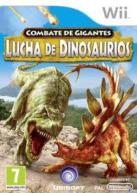 Portada oficial de Combate de Gigantes: Lucha de Dinosaurios para Wii