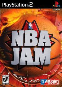 Portada oficial de NBA Jam 2004 para PS2