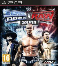 Portada oficial de WWE: Smackdown vs. RAW 2011 para PS3