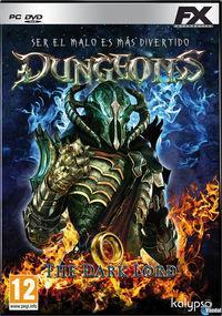 Portada oficial de Dungeons para PC