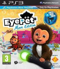 Portada oficial de Eye Pet Move Edition para PS3