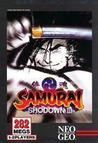 Portada oficial de de Samurai Shodown III CV para Wii