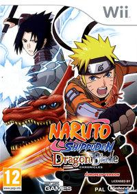 Portada oficial de Naruto Shippuden: Dragon Blade Chronicles para Wii