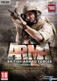 Portada oficial de ArmA II British Armed Forces para PC