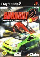 Portada oficial de de Burnout 2: Point of Impact para PS2