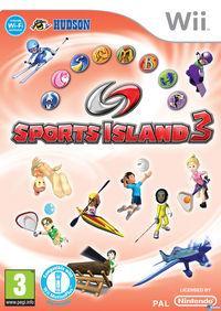 Portada oficial de Sports Island 3 para Wii