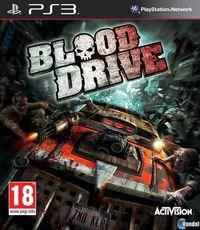 Portada oficial de Blood Drive para PS3