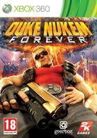 Portada oficial de de Duke Nukem Forever para Xbox 360