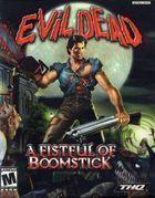 Portada oficial de de Evil Dead: A Fistful of Boomsticks para PS2