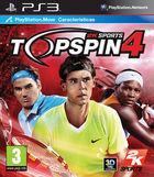 Portada oficial de de Top Spin 4 para PS3