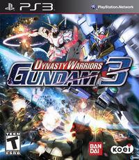 Portada oficial de Dynasty Warriors: Gundam 3 para PS3