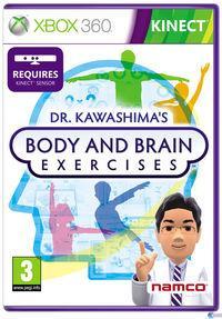 Portada oficial de Dr. Kawashima revitaliza cuerpo y mente para Xbox 360
