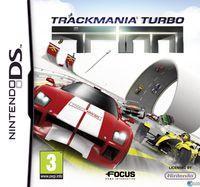 Portada oficial de Trackmania Turbo DS para NDS