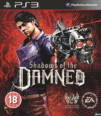 Portada oficial de Shadows of the DAMNED para PS3